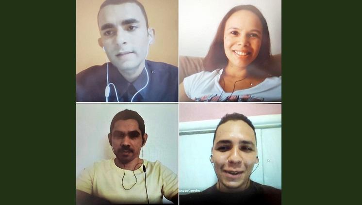 Defesa de TCC do estudante Gilberto Leandro Alves Júnior do Curso de Estatística da UFAM